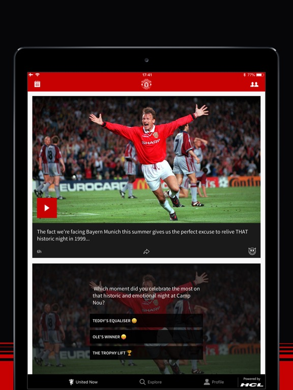 Manchester United Official App-ipad-0