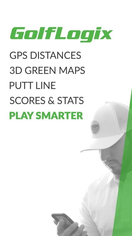 GolfLogix Golf GPS + Putt Line screenshot-0