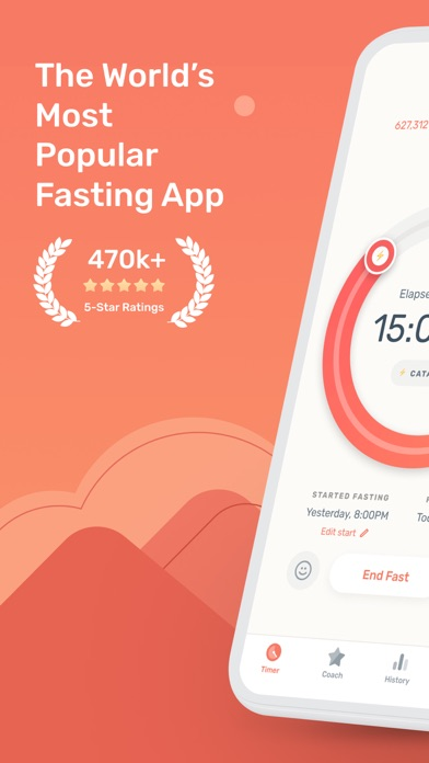 Zero - Simple Fasting Tracker Screenshot
