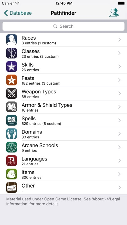 RPG Scribe Pathfinder & 3.5 screenshot-4