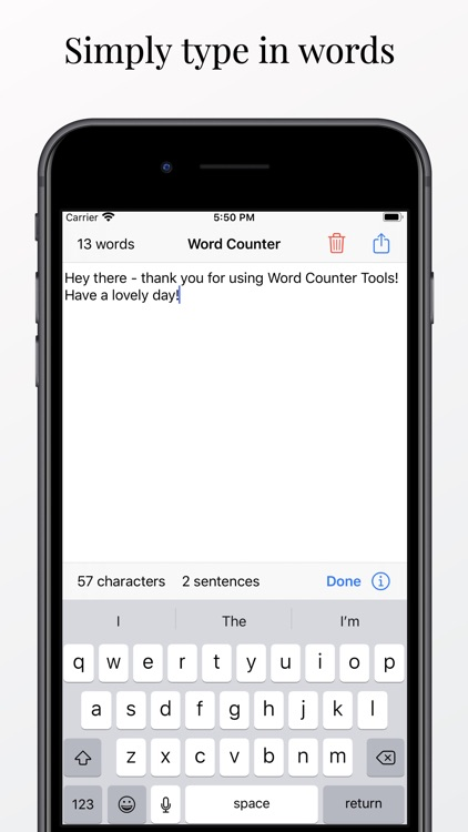 Word Counter Tool