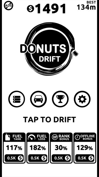 Donuts Drift - Slide Drifting screenshot-3