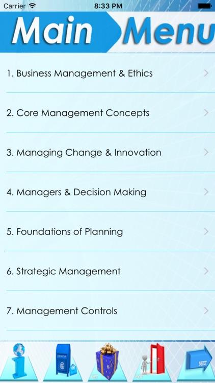 The MBA Encyclopedia 22 topics screenshot-3