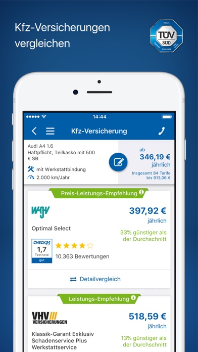 Check24 Revenue Download Estimates Apple App Store Germany