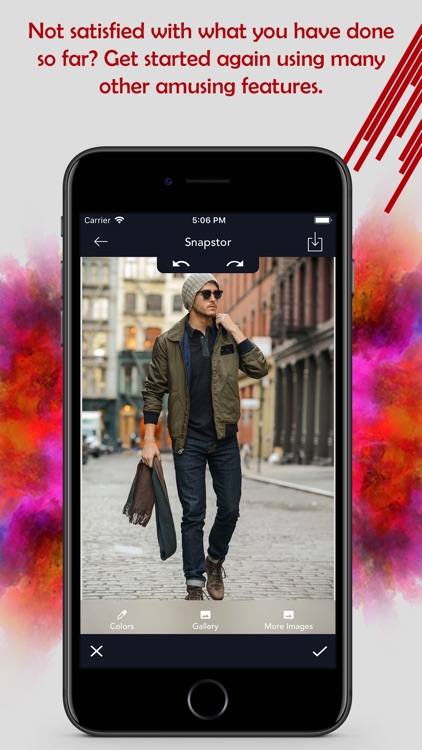 Snapstor - Best Photo Editor screenshot-3