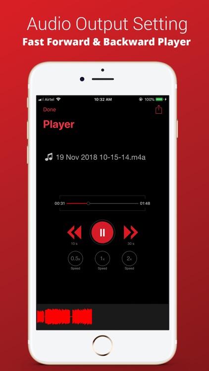 Voice Recorder Plus Pro screenshot-4