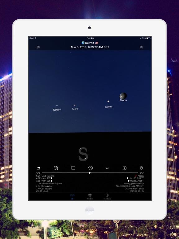 Screenshot #4 pour Soleil et Lune 3D Pro