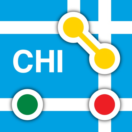 Chicago L - Subway Map by Bappz