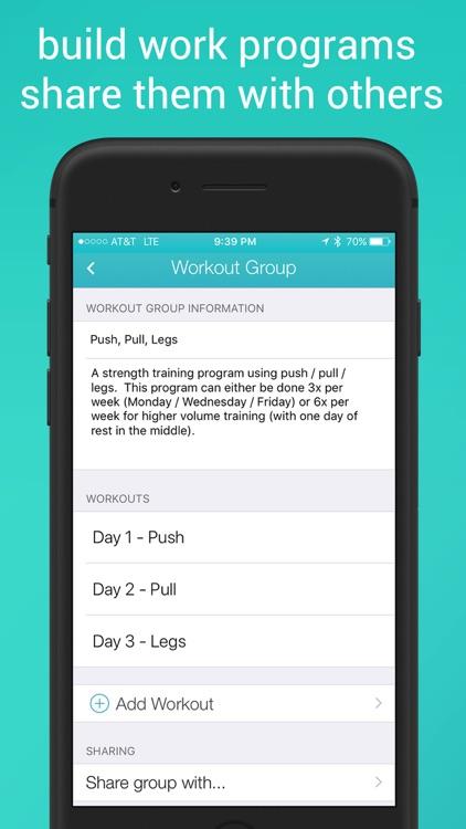 Fitlist - Gym Workout Log screenshot-4