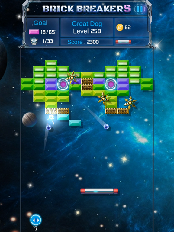 Brick Breaker : Space Outlaw screenshot 9