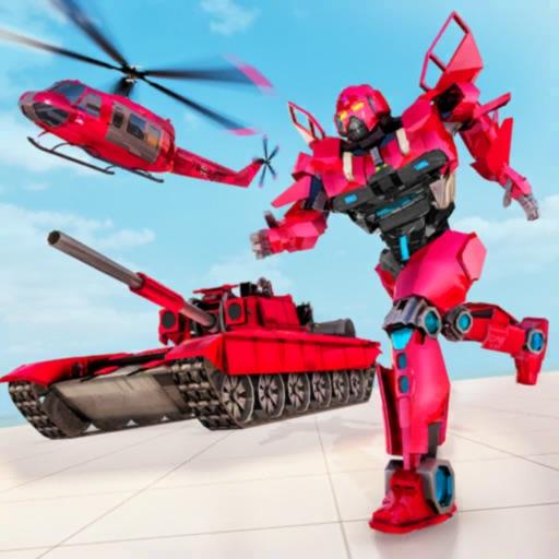 Helicopter Transform Tank War