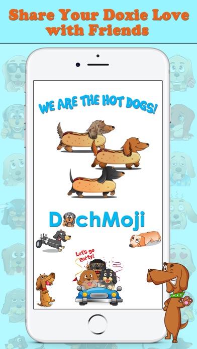 DachMoji: Sausage Dog Stickersのおすすめ画像1