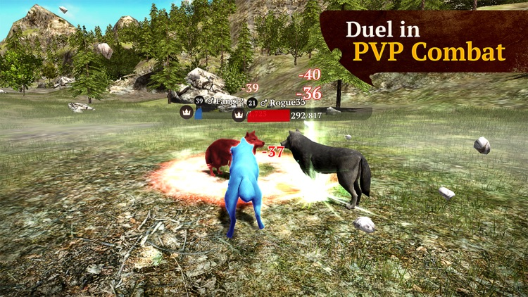 The Wolf: Online RPG Simulator screenshot-3