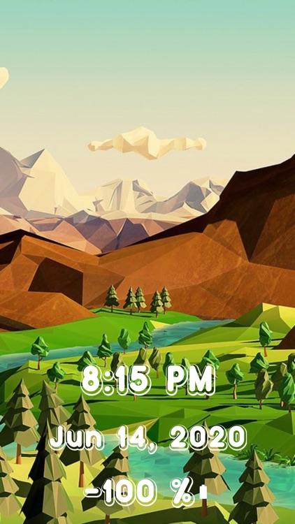 Big Live Clock~Wallpapers Time screenshot-7