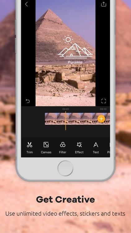 GoPlay Video Editor, Vlog screenshot-3