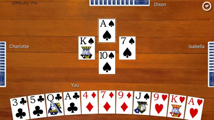 Hearts Card Classic screenshot-0