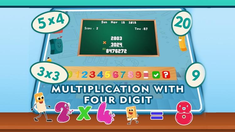 Multiplication Games 4th Grade screenshot-3