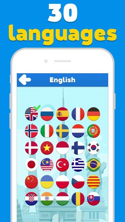 Attractions quiz - word game screenshot-3