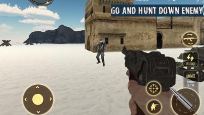 Sniper War Legend Battlefield screenshot one