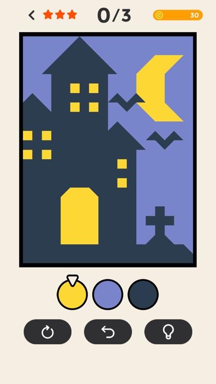 ERASE - coloring puzzle game screenshot-4