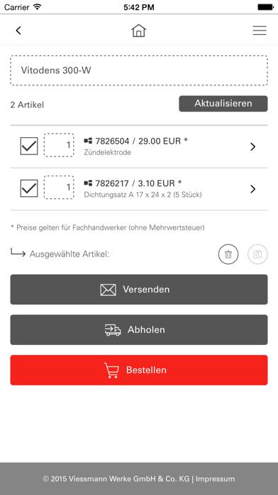 messages.download Viessmann Ersatzteil-App software