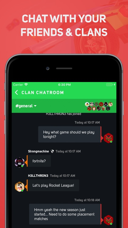 GamerLink - #1 LFG & Clan Chat screenshot-3