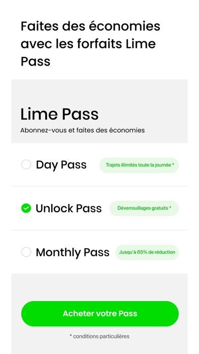 Lime - Vos trajets optimisés