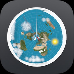 Flat Earth Sun, Moon Clock