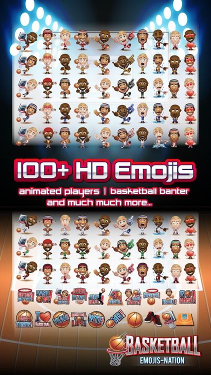 Basketball Emojis Nation