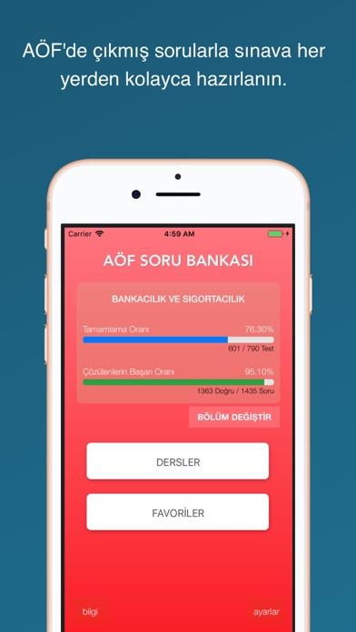 AÖF Soru Bankası