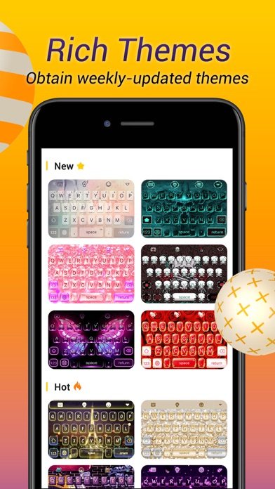 Avatar Keyboard-Themes, Emojis screenshot 5