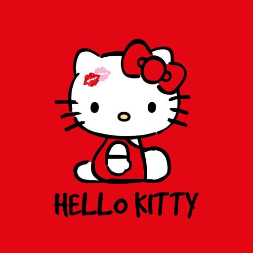 Hello Kitty Love Stickers