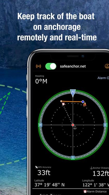 SafeAnchor.Net Anchor Alarm
