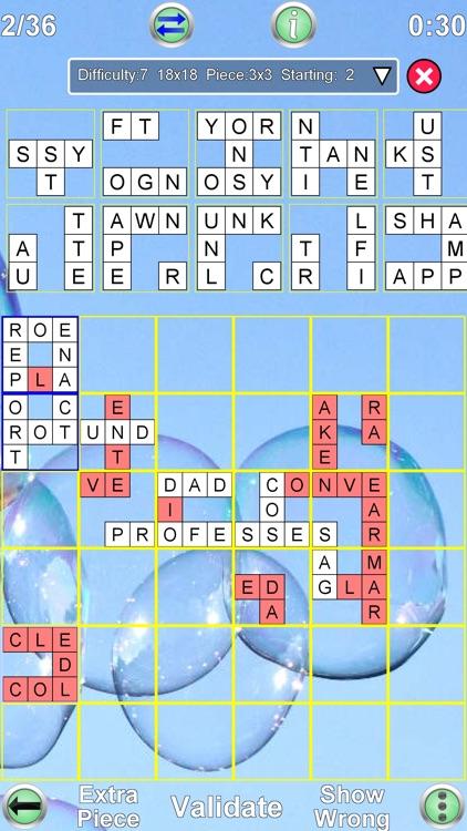 Jigsaw Crossword + screenshot-4