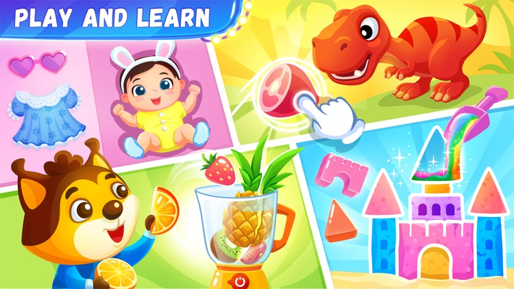 Toddler learning games 4 kids