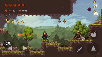 Screenshot from Apple Knight