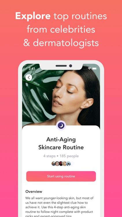 Charm: Skincare Routine 360° screenshot-5