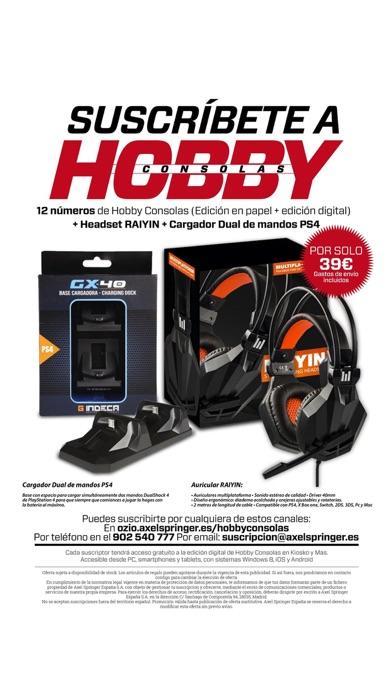 Screenshot for Hobby Consolas Revista in Peru App Store