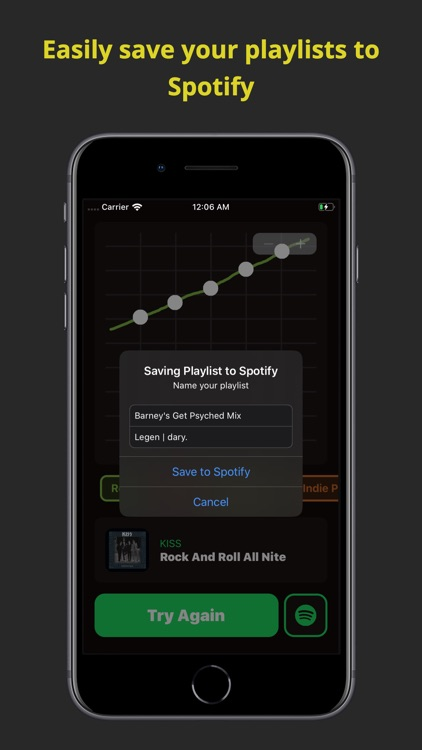 Tempo: Playlists for Spotify