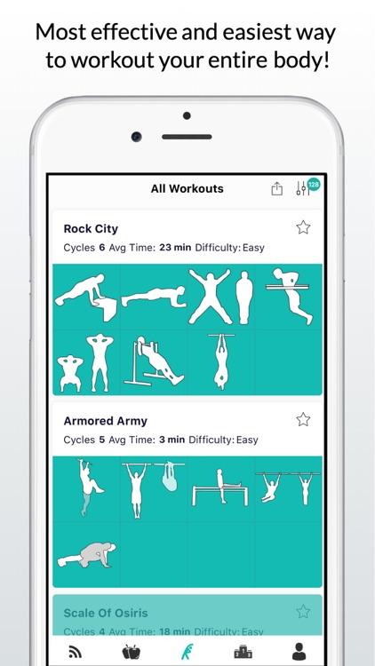 Calisthenics Workout Routines screenshot-0