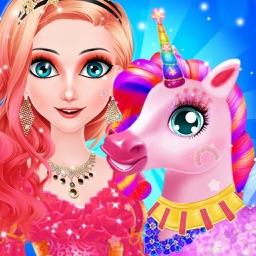 Princess And Unicorn Makeover
