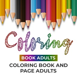 Adult Coloring Page & Book