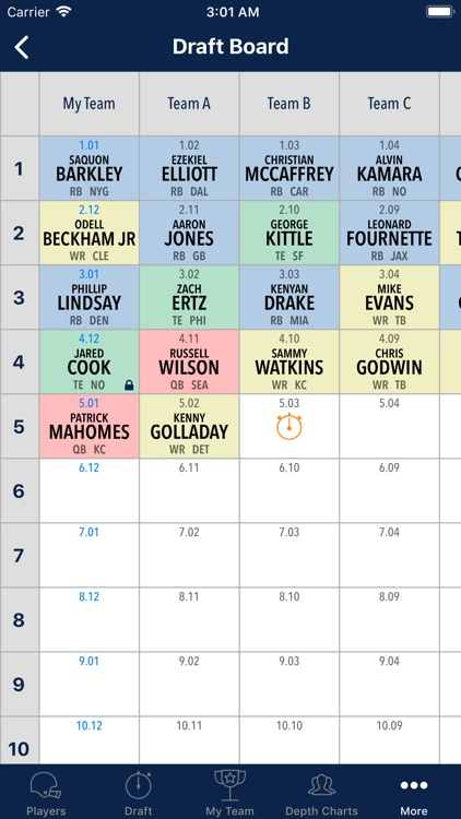 Fantasy Football Cheatsheet screenshot-6