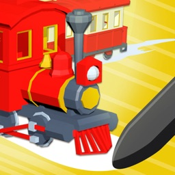 TRAIN STOP! -Driving Puzzle-