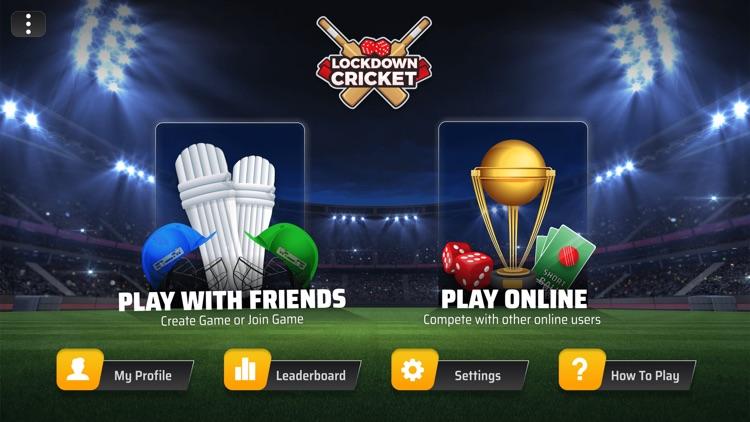 Lockdown Cricket