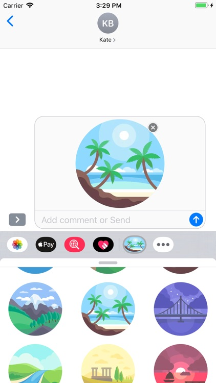 Nature - Stickers Pack screenshot-6