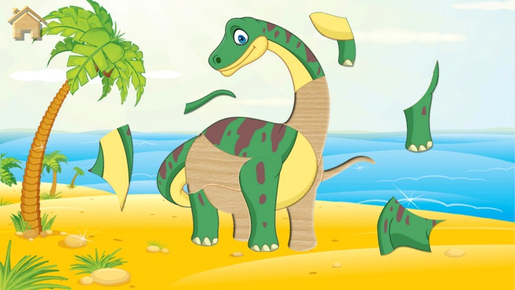 Dino Puzzle for Kids Full Game
