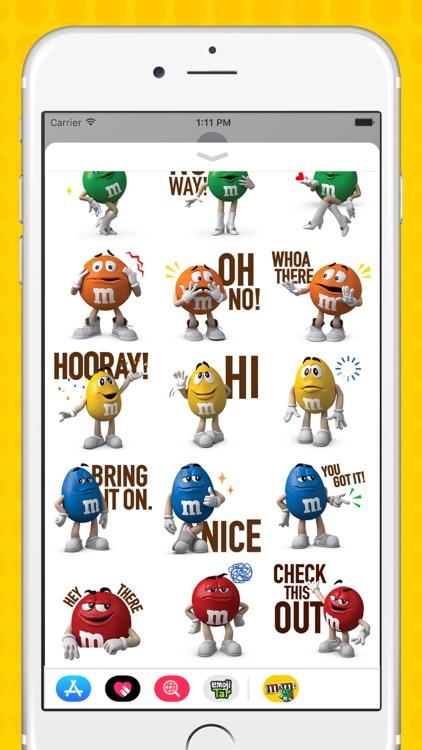 M&M'S Stickers screenshot-4