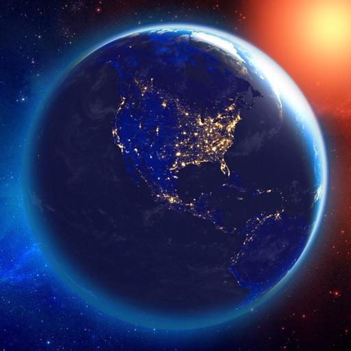 3D Earth & Moon
