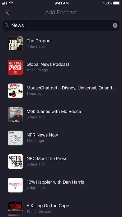 Network - Podcast App screenshot1